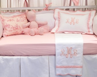 Custom Girls Baby Bedding Set
