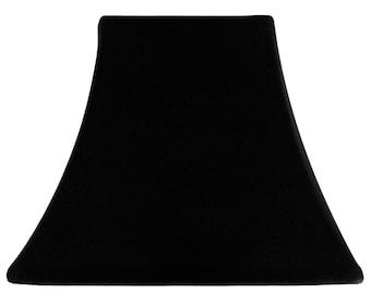 Onyx Velvet - Custom Slip Cover for Lamp Shades -  fit perfectly