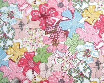 "Liberty Tana Lawn fabric MAUVEY - 17"" wide x 13"" (43cm x 33cm) - pink"
