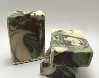 Basil Mint Handmade Soap | Soap | Handcrafted Soap | Artisan Soap l Natural Soap | Skincare | Essential Oil