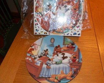 Walt Disney Collectors Plate- MIckey Through the Years