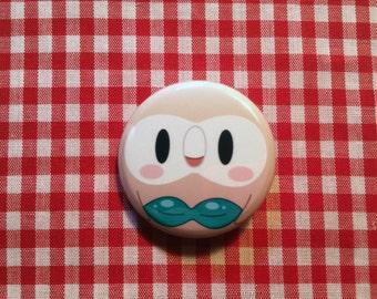 Rowlet (Pokemon) Button
