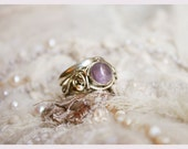 Fairy Spell Tourmaline Siver Ring