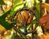 Full Moon Tree Necklace