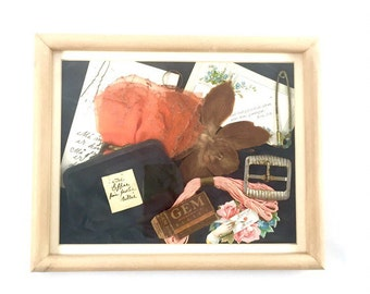 Vintage Shadow Box, Memory Box