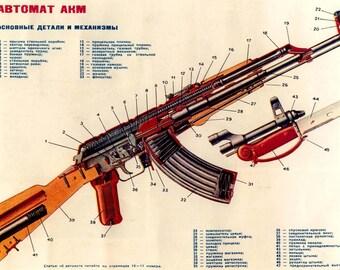 ABTOMAT AKM/AK-47 Poster