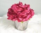 Easter Centerpiece , Table Topper, Table Decor, Centerpieces, Flower Arrangements