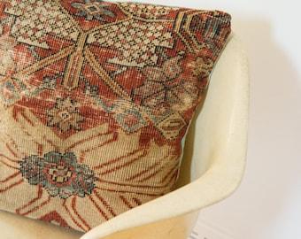 Antique Persian Rug Pillow