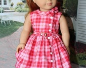 American Girl 1950s Maryellen Special back to school dress