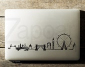 London Skyline Sticker Decal Laptop Decal iPad