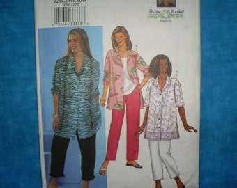 Butterick 3096 Size 22W-24W-26W Tunic and Pants