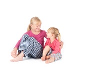 Childrens Pyjama Bottoms Pattern by Anna Vickery - Easy Sewing Pattern - Instant PDF Download - Multi Size Ages 3 - 12 included