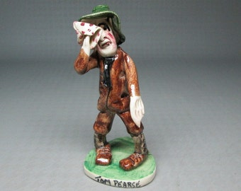 Tom Pearse figurine by Will Young Runnaford Pottery England