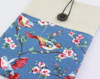 """Laptop Case, 13"""" MacBook Case, 13"""" MacBook Air Case, 13"""" MacBook Pro Case, PADDED, with 2 pockets - Sparrows"""