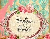 Custom order for Jacqueline, NYFW dresses