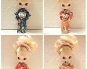 CottonCandyWorkshop Blythe Dress, Yukata for Petite Blythe