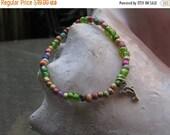 ON SALE Ocean Collection Colorful Bead Balance Bracelet