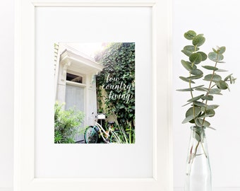 Low Country Living | INSTANT DOWNLOAD digital art print