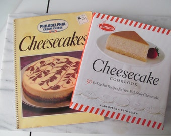 Cheesecake Baking Books Set of Two