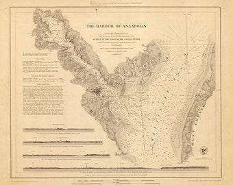 Annapolis Harbor – 1846