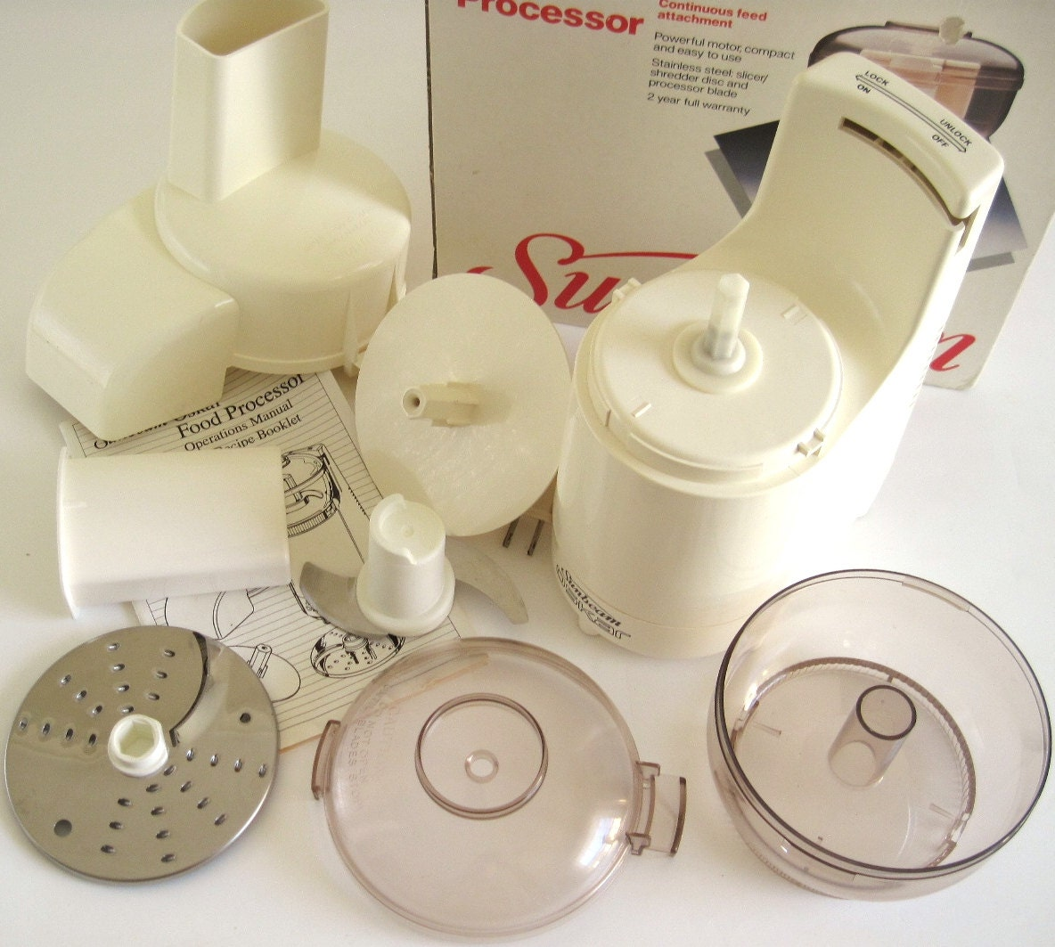 Sunbeam Oskar Food Processor Model