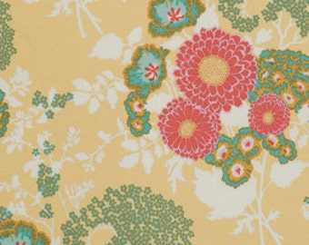 54029 - Joel Dewberry Botanique collection PWJD079 Bold bouquet  in Butternut color - 1 yard