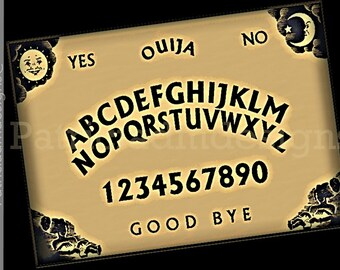 Printable Large Ouija Board | Instant download | High Resolution