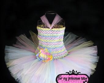 Easter Dress - newborn tutu, infant tutu, toddler tutu, dance tutu, dress up tutu, pageant tutu, 1st birthday tutu, tutu