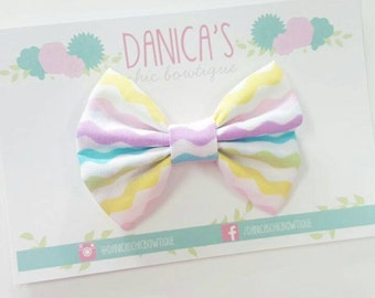 New, Easter { Katie } bow or headband . Easter headband, baby girl headband, newborn headband