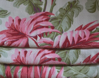 """Cotton Bark Cloth Curtains, Textured, 60""""l. x 33""""w., Two Pairs Available"""