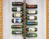 Wine Rack 12 Bottle High Capacity - FREE SHIPPING