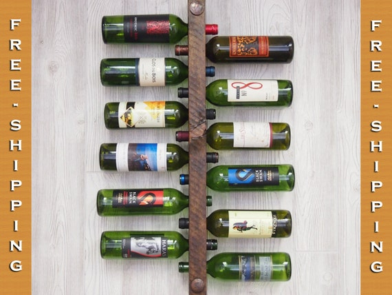 Wine Rack 12 Bottle High Capacity - FREE SHIPPING