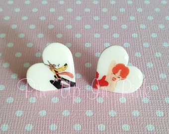 Oh Wolfy! Tex Avery Inspired Earrings