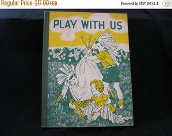 Valentine SALE Vintage Primer 1954 1st Reader School Book
