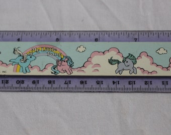 Rare Vintage G1 My Little Pony ruler