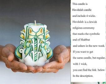 Unique havdalah candles - havdalah candle
