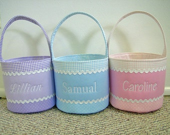 Personalized Easter Basket-More Colors