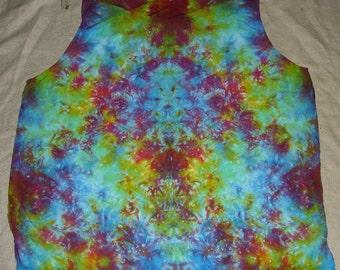 4526 Womens 2XL 100% Rayon blouse/tank Yummy Tie-Dyes