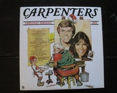 Reserved for Mallory-Vintage Vinyl Record Album-The Carpenters Christmas Portrait-1978-Christmas Classics-Christmas Music