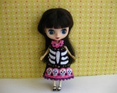 Day of the Dead Dress (Black)