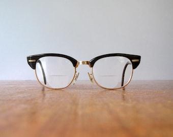 Vintage Universal Hornrimmed Style Eyeglasses / Glasses 48-20