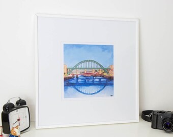 Bridges From the Eye - Studio Print