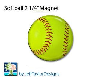 Girls Softball Magnet
