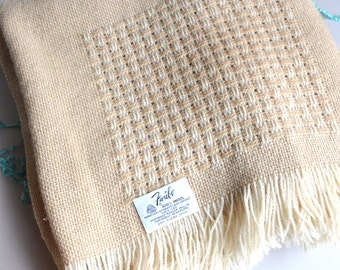 Faribo Faribault Wool Throw Lap Blanket - Made in USA