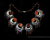 Filigree Moons Necklace