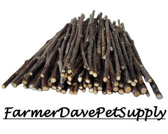 60 Premium Apple Skinny Chew Twigs For Rabbits, Guinea Pigs, Chinchillas, Gerbils, Hamsters,,,,,,