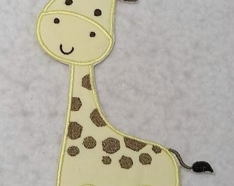 Giraffe - MADE to ORDER - Choose SIZE and Color - Tutu & Shirt Supplies - fabric Iron on Applique Patch 7400