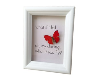 Real Framed Butterfly Taxidermy - Insects, Bugs, Taxidermy art, Natural, Unique, Gift, Special Occasion, Graduation Gift, Get Well