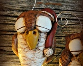 RESERVED Owl Ornament