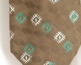 Men's Vintage Tie, Retro Necktie, Men's Ties, Vintage Skinny Tie, Men's Fashion Accessory, Vintage Neckties, Swing Era Tie, Hipster Necktie